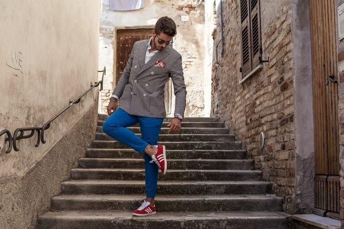 adidas gazelle outfit uomo