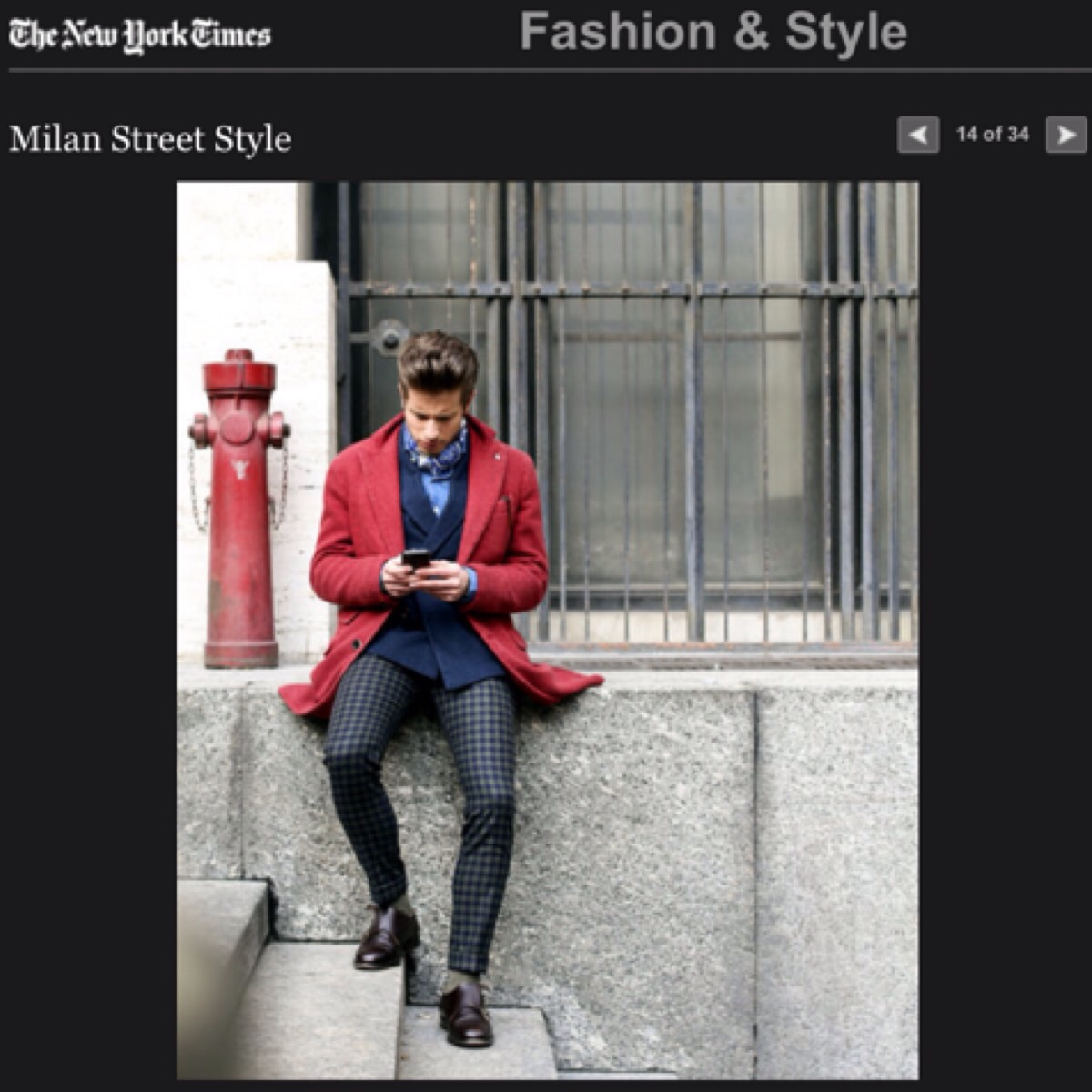 new york times fashion